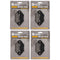 Brake Pad Set 4-Pack for Polaris Worker Trail-Boss Trail-Blazer Sportsman 2202412 2200465 NICHE 519-KPA2225D