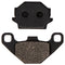 Brake Pad Set for Yamaha KTM Kawasaki Raptor Grizzly Bayou 1SC-F5806-00-00 43082-1163 NICHE 519-KPA2233D