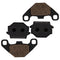 Brake Pad Set 2-Pack for Yamaha KTM Kawasaki 1SC-F5806-00-00 43082-1163 43082-1096 NICHE 519-KPA2284D
