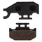 Brake Pad Set for Yamaha Rhino Raptor 1S3-W0046-01-00 5UG-W0046-01-00 NICHE 519-KPA2200D