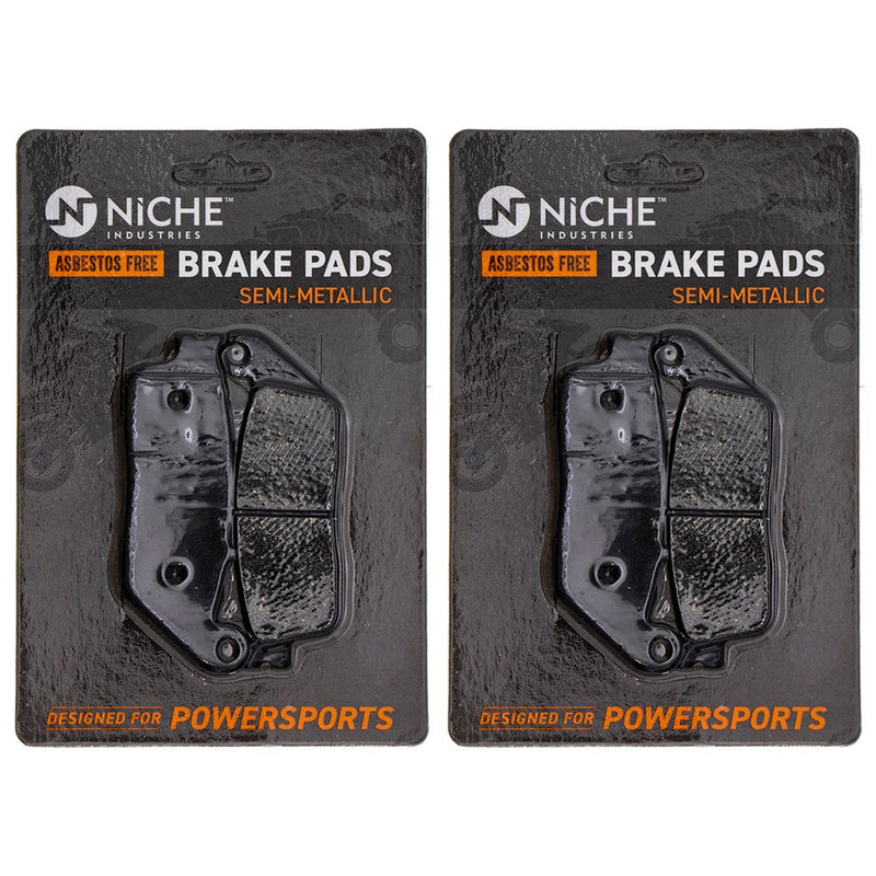 NICHE MK1002867 Brake Pad Set for zOTHER Honda Silver NM4 NC700XD