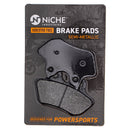NICHE MK1002525 Brake Pad Set for Harley Davidson Softail Heritage