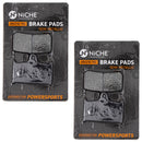 NICHE MK1002750 Brake Pad Set for Triumph Tiger Speed Daytona