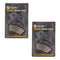 Brake Pad Set 2-Pack for Yamaha Harley Davidson 44082-00E NICHE 519-KPA2491D