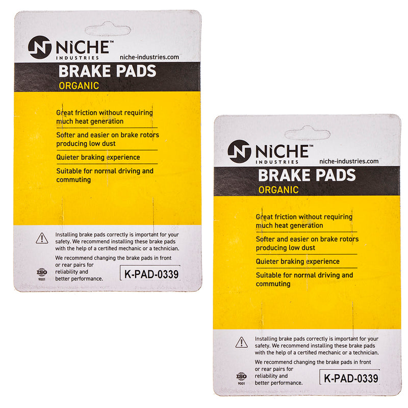 NICHE Brake Pad Set BMW R Nine T 34118548028 34212335465 Complete