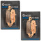 Brake Pad Set 2-Pack for Suzuki Kawasaki 43082-1264 59102-33820 43082-0124 43082-0062 NICHE 519-KPA2590D