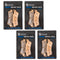 Brake Pad Set 4-Pack for Victory Polaris Honda 06455-MCA-016 06435-MCV-016 06455-MBT-612 NICHE 519-KPA2504D