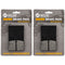 Brake Pad Set 2-Pack for Ski-Doo Can-Am BRP 415129172 415084600 415053600 414990000 NICHE 519-KPA2516D