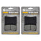 Brake Pad Set 2-Pack for Yamaha Royal 4BE-W253E-00-00 4KN-W253E-11-00 4NK-W0045-01-00 NICHE 519-KPA2640D