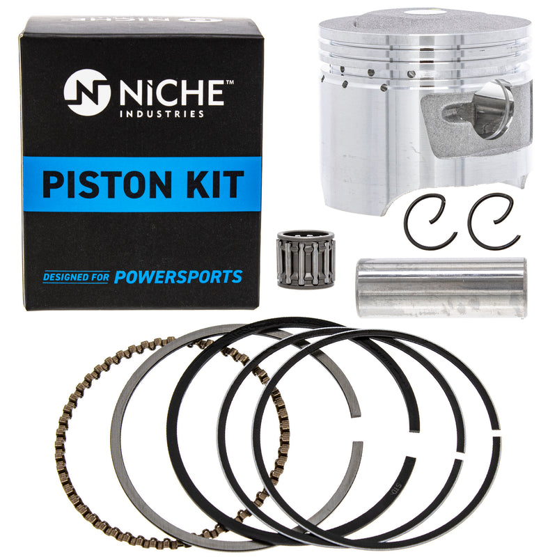 Piston Kit for Yamaha Raptor Grizzly Badger 55X-11638-00-00 55X-11636-00-00 NICHE 519-KPS2228T