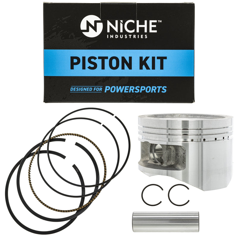Piston Kit for Yamaha Kodiak Big 4GB-11638-00-00 4GB-11636-00-00 4GB-11631-00-Y0 NICHE 519-KPS2221T