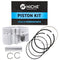 Piston Kit for Polaris Xplorer Worker Sportsman Scrambler 3087226 3087225 3087224 3087172 NICHE 519-KPS2243T