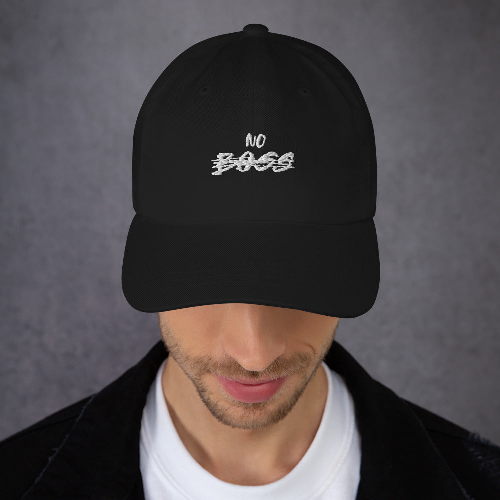 Cappello baseball ricamato No Boss
