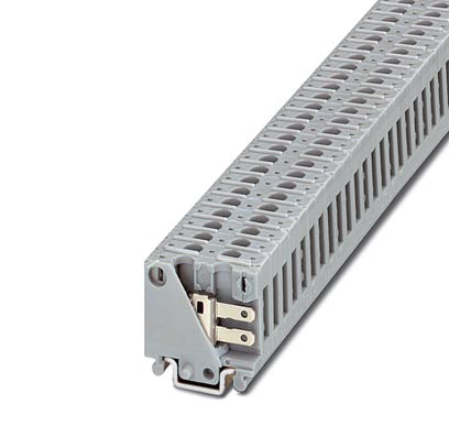 Mini feed-through terminal block - MBK-FS/FS - 1406014