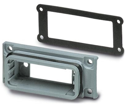 D-SUB panel mounting frames - VS-15-A - 1688036