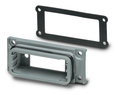D-SUB panel mounting frames - VS-09-A BK - 1658079