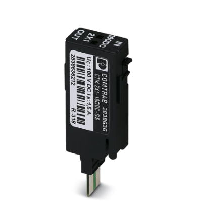 Surge protection plug - CTM 2X1-180DC-GS - 2838636