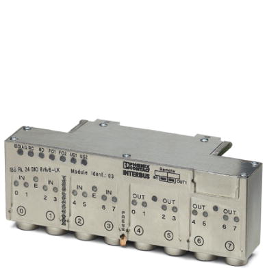 Distributed I/O device - IBS RL 24 DIO 8/8/8-T - 2836476