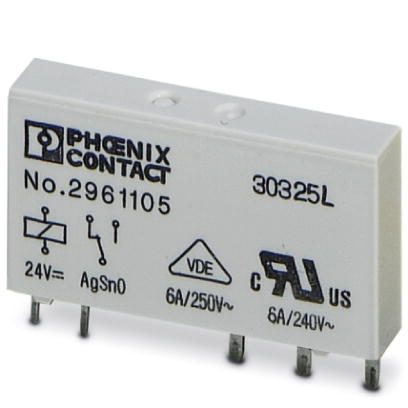 Single relay - REL-MR- 24DC/21 - 2961105