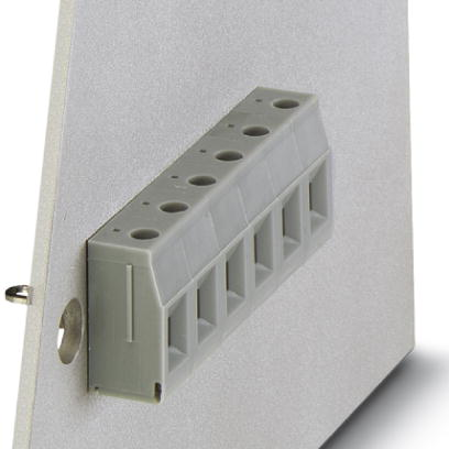 Panel feed-through terminal block - VDFK 4 GNYE - 0708836