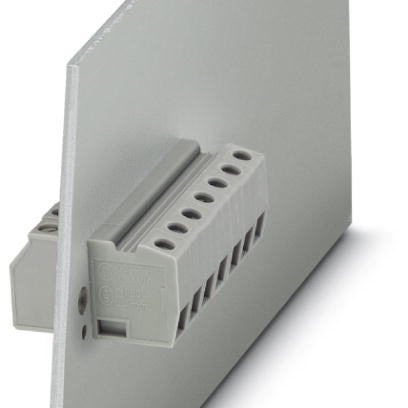 Panel feed-through terminal block - HDFK 4 GNYE - 0707866