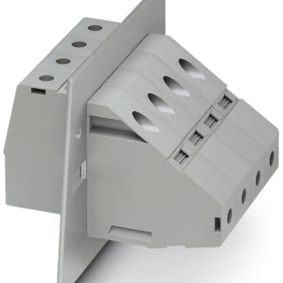 Panel feed-through terminal block - HDFKV 95 - 0709547