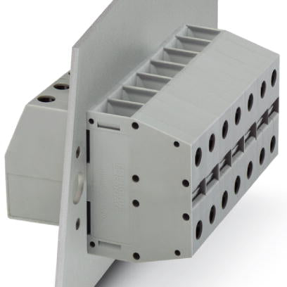 Panel feed-through terminal block - HDFKV 25-TWIN - 0709563