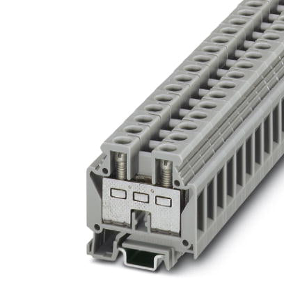 Mini feed-through terminal block - MBK 6/E - 0552024