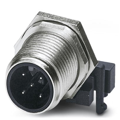 Flush-type connector - SACC-DSIV-M12MS-5CON-L 90 - 1694224