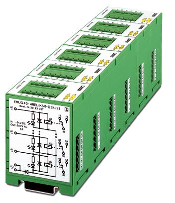 Multiple relay module - EMUG 45- 4REL/KSR-G 24/21 - 2943767