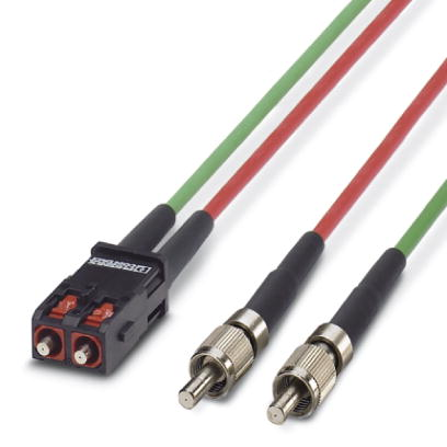FO connecting cable - VS-PC-2XHCS-200-SCRJ/FSMA-5 - 1654989