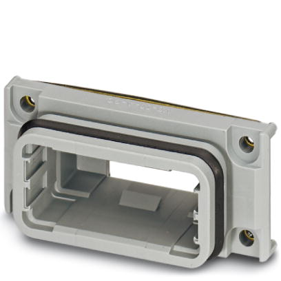 D-SUB panel mounting frames - VS-09-A-GC-BLANK - 1654840
