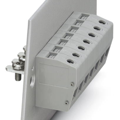 Panel feed-through terminal block - HDFK 16-VP/Z - 0717063