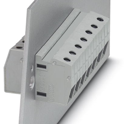 Panel feed-through terminal block - HDFK 10/Z - 0709754