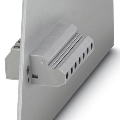 Panel feed-through terminal block - HDFKV 4/Z - 0714040