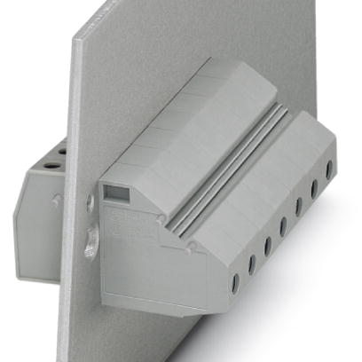 Panel feed-through terminal block - HDFKV 10/Z - 0714053