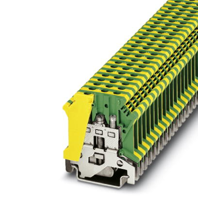 Ground modular terminal block - USLKG 4 - 0441012