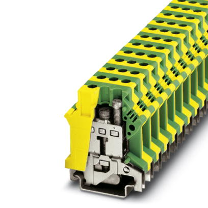 Ground modular terminal block - USLKG 16 N - 0443023