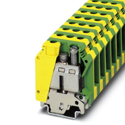 Ground modular terminal block - USLKG 35 - 0444019