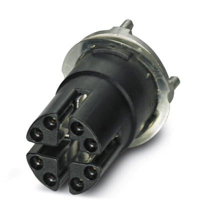 Flush-type socket - SACC-CI-M12FS-8CON-L180-10G - 1402457