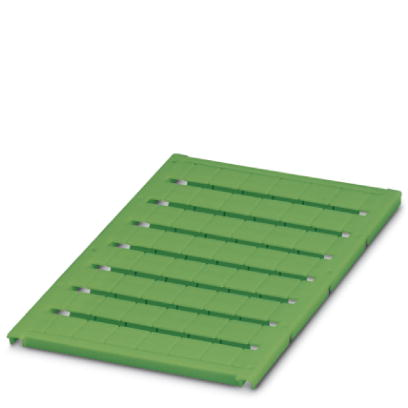 Marker for terminal blocks - UC-TM 10 GN - 0818467