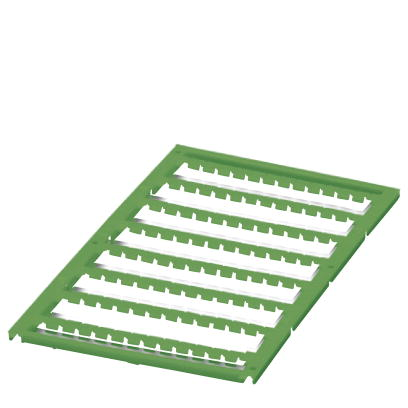 Marker for terminal blocks - UC1-TMF 5 GN CUS - 0828342