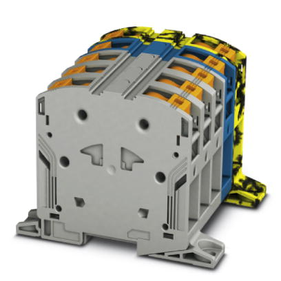 High-current terminal block - PTPOWER 95-3L/N/FE-F - 3260130