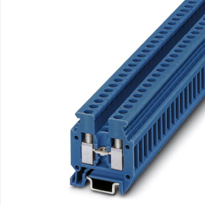 Mini feed-through terminal block - MBK 3/E-Z BU - 1413078