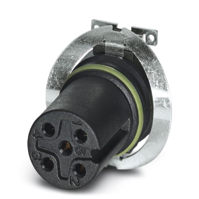 Flush-type connector - SACC-CIP-M12FS-5P SMD SH R32 - 1412006
