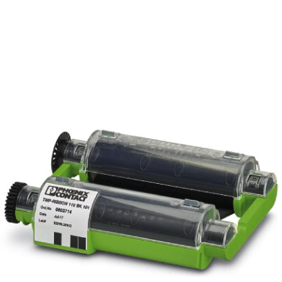 Ink ribbon cartridge - TMP-RIBBON 110 BK 101 - 0803714