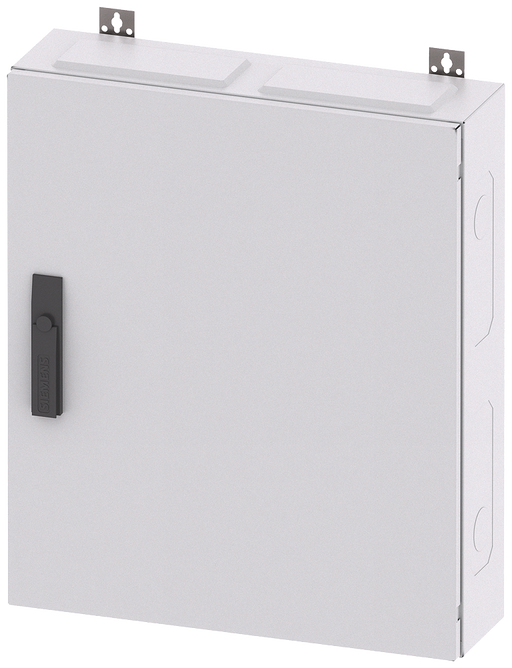 ALPHA 160, wall-mounted cabinet, IP43, degree of protection 2, H: 650 mm, W: 550 mm, D: 140 ... motor - 8GK1032-2KK21