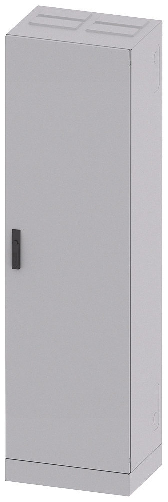 ALPHA 1250, floor-mounted cabinet, with open side panel, IP55, degree of protection 1, H: ... motor - 8GK1423-8KK25
