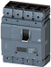 circuit breaker 3VA2 IEC frame 630 breaking capacity class H Icu=85kA @ 415V 4-pole, line protection ETU850, LSI, In=630A overload protection Ir=250A. motor - 3VA2463-6KP42-0DD0