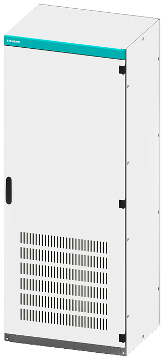 Empty control cabinet enclosure, with ventilation openings, IP20, H: 2200 mm, W: 600 ... motor - 8MF1266-3VS4